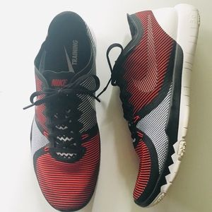 NIKE Free3.0 Trainer Univ Red/Black/White Mens 11